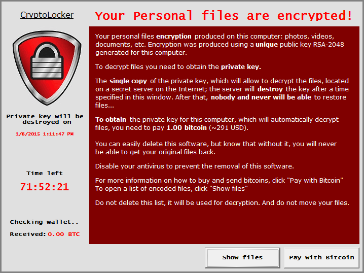 How to Remove CryptoLocker