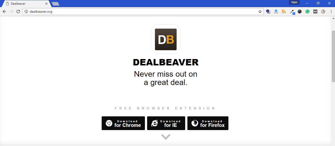 Dealbeaver Adware Removal Guide