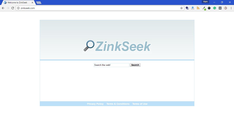 Zinkseek.com Hijacker Removal Guide
