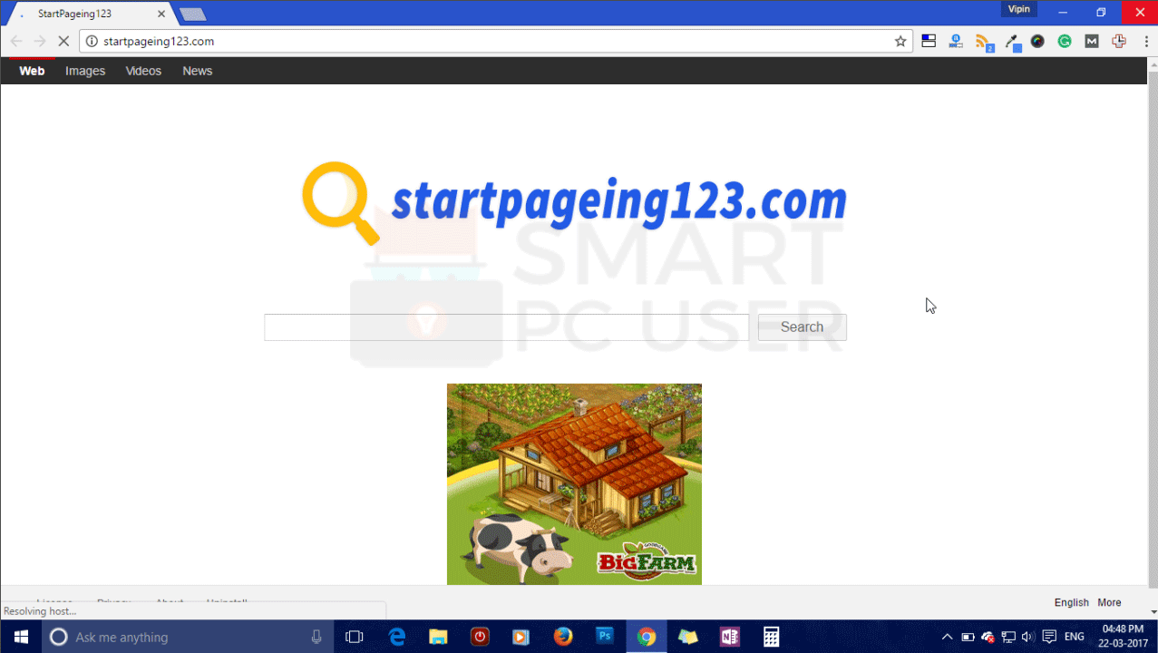 How to Remove Startpageing123.com