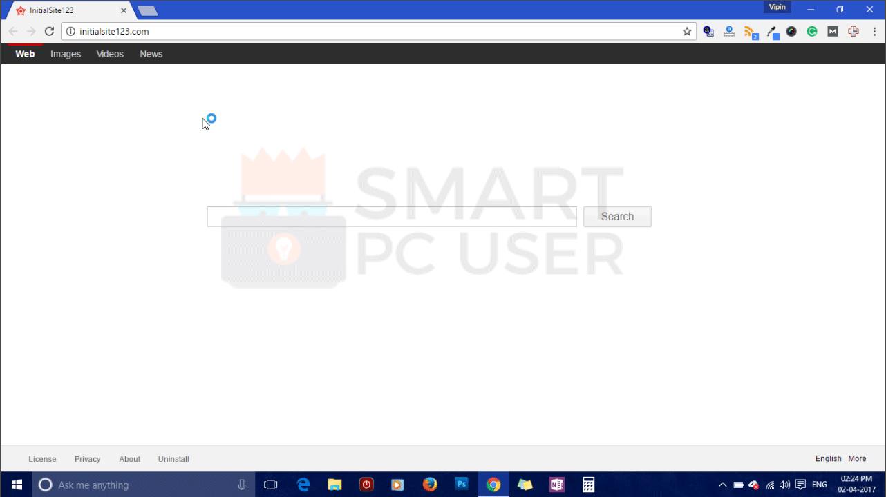 How to Remove Initialsite123.com