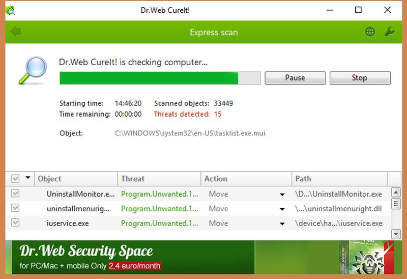 Dr Web CureIt - 5 Best Portable Antivirus