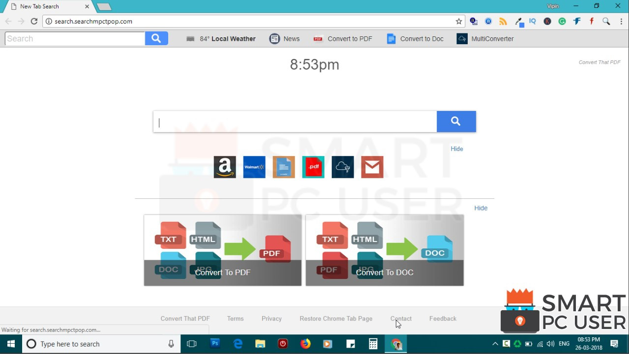 How to Remove Search.searchmpctpop.com from All Browsers