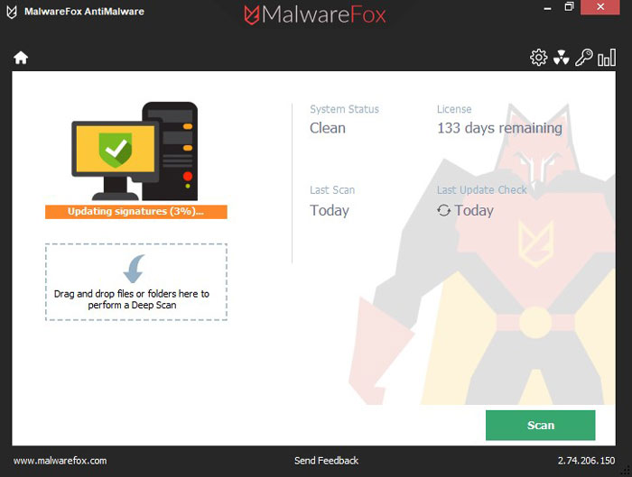 MalwareFox is Installing