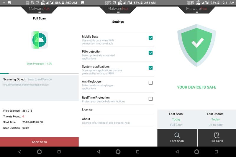 MalwareFox Antimalware App to Remove Adware