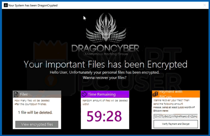 Remove DragonCyber Ransomware