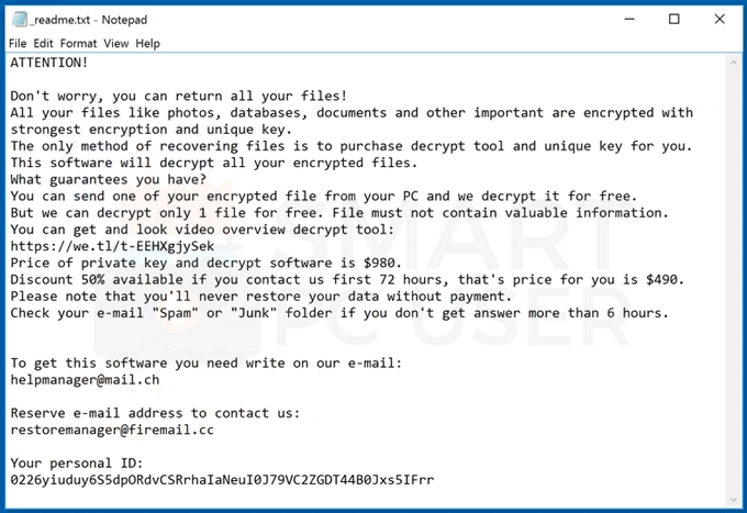 Uninstall Koti Ransomware