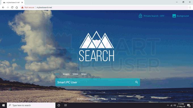 Delete Mybestsearch.net Browser Hijacker