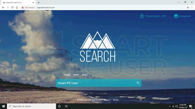 remove tigerpdf-search.com redirect