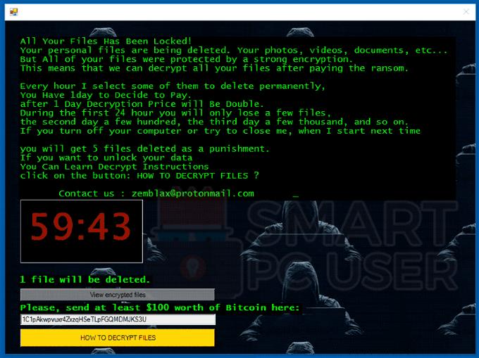 Uninstall ElvisPresley Ransomware