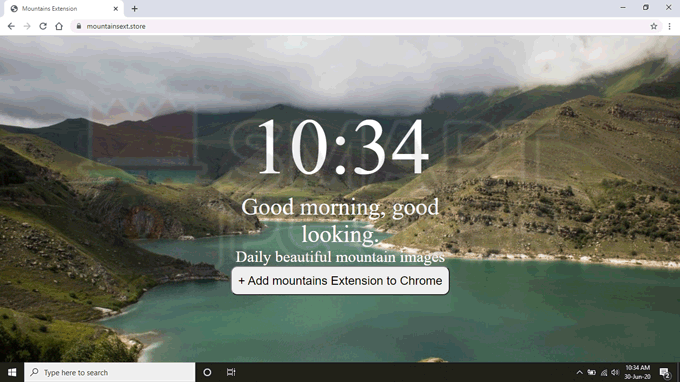 Delete Mountains Browser Hijacker