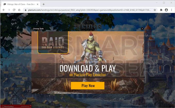 Remove Chrome Tools Adware