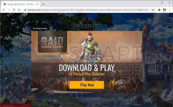 Remove The Rocket Arcade Adware