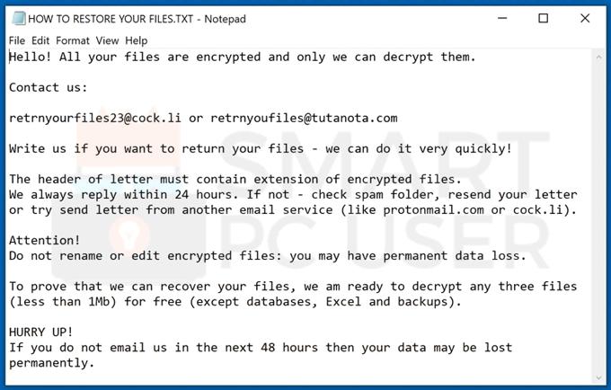Uninstall Hhmgzyl Ransomware